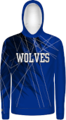 Custom Sublimated Fleece Hoodies